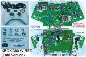 xbox 360 wireless controller wiring diagram xbox get