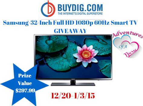 Tv Giveaway - samsung tv giveaway the bandit lifestyle