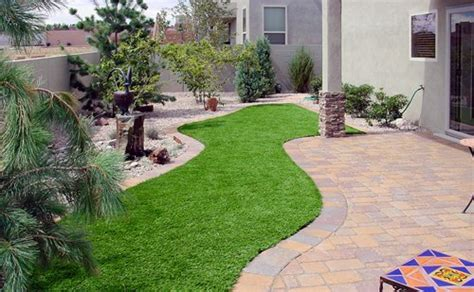 Grass Patio Ideas by Fake Grass Garden Designs Kyprisnews