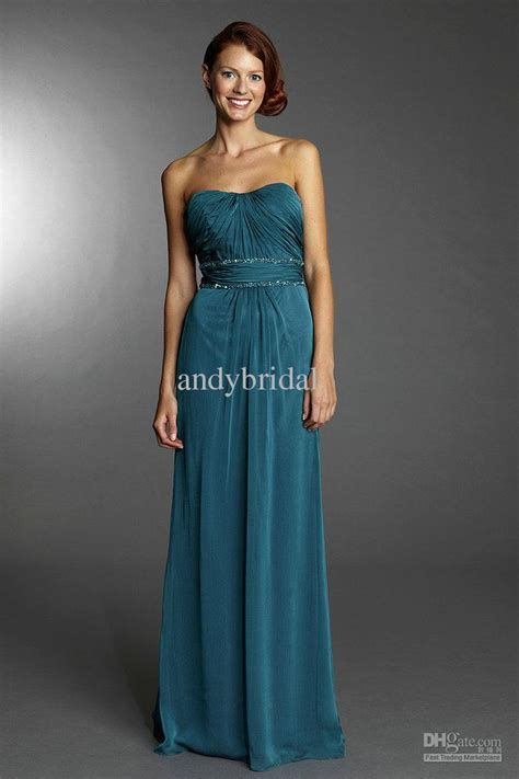 Dress Import 20pcs Grade Standard by Custom Made Aquamarine Strapless Detachable Cap Sleeve