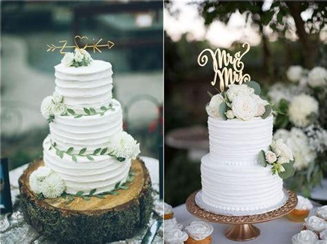 greenery wedding cakes   naturally gorgeous