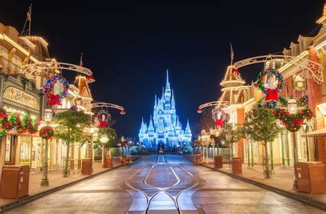 christmas day at the magic kingdom a reality check