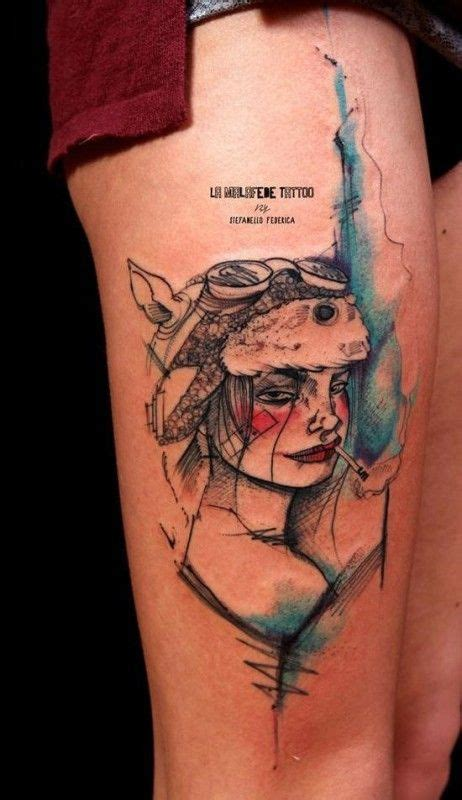 tank girl tattoo 18 tank tattoos for tough and boys