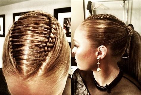 ronda rousey hairstyles ronda rousey s braided hair on jimmy kimmell live