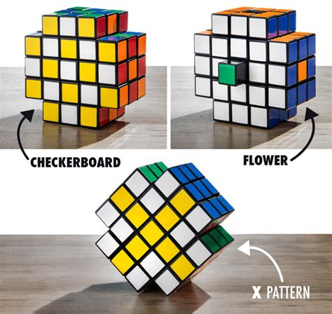 flower pattern on rubik s cube x cube a puzzle beyond the rubik s cube