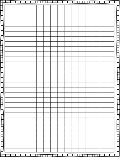 grade book template printable 6 best images of individual grade sheets templates