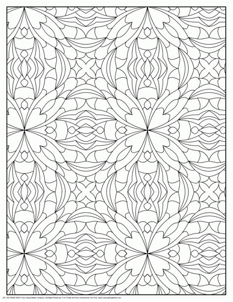 designs to color printable geometric coloring pages coloring home
