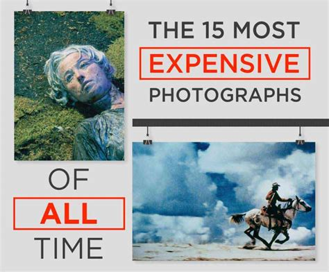 The 15 Most Expensive Photographs Ever Sold Infographic