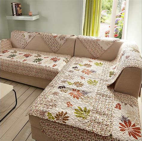 printed sofa covers sunnyrain 1 piece maple leaves printed sofa cover