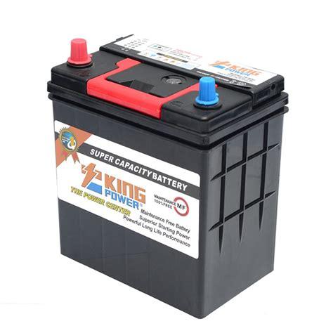 Car Maintenance Types by 12v Jis Type Maintenance Free Car Battery Terminal Types