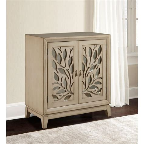 Mirrored Storage Cabinet Pulaski Furniture Mirrored Storage Cabinet Ds A092004 The Home Depot