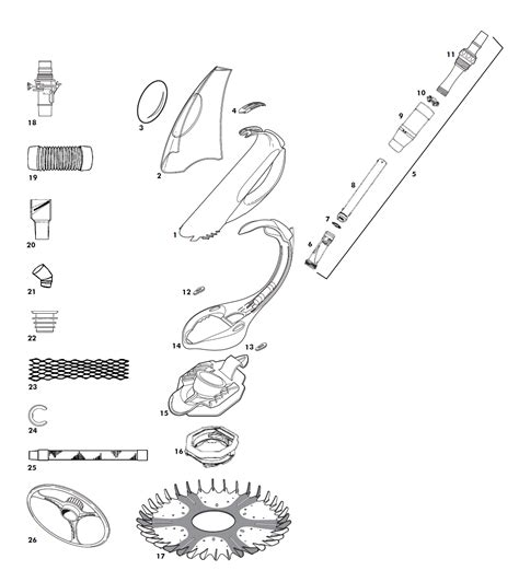 baracuda g3 parts diagram baracuda g3 parts list images