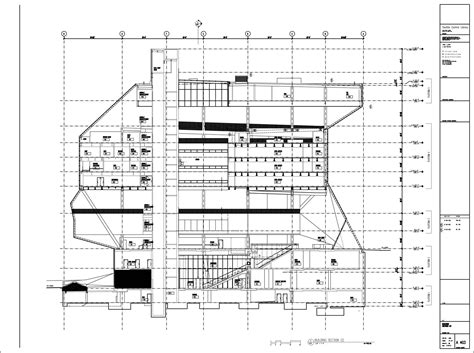 technical section in library architecture photography a403 model 1 11674