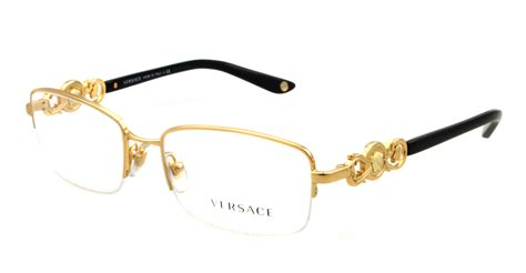 new versace eyeglasses ve 1199 gold 1002 ve1199 ebay