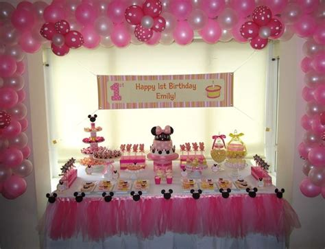 minnie mouse theme decorations 17 best images about minnie mouse 1st birthday theme on