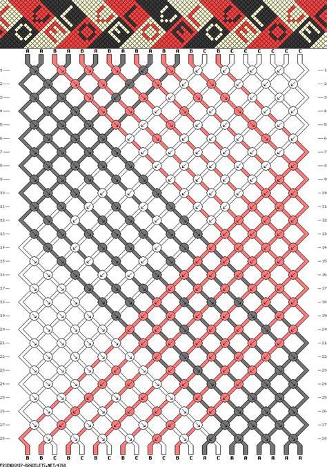 Hemp String Patterns - 1000 ideas about string bracelet patterns on