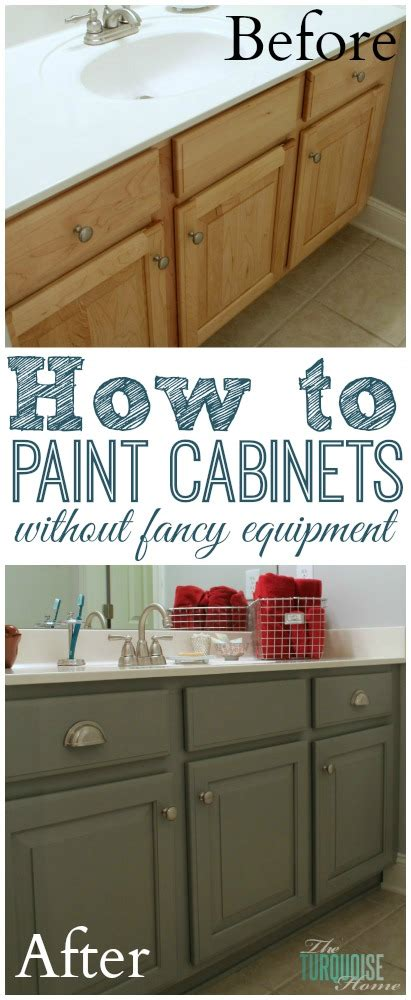 Diy How To Paint Kitchen Cabinets The Average Diy S Guide To Painting Cabinets Supplies No Professional Equipment Needed