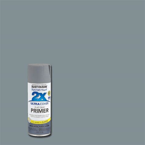home depot paint with primer included rust oleum painter s touch 2x 12 oz flat gray primer