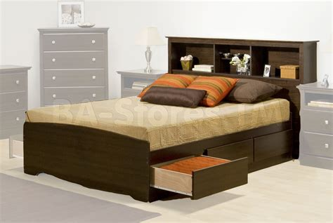 Headboard With Storage by Prepac Furniture Beds Platform Bed Bed Bedroom Set