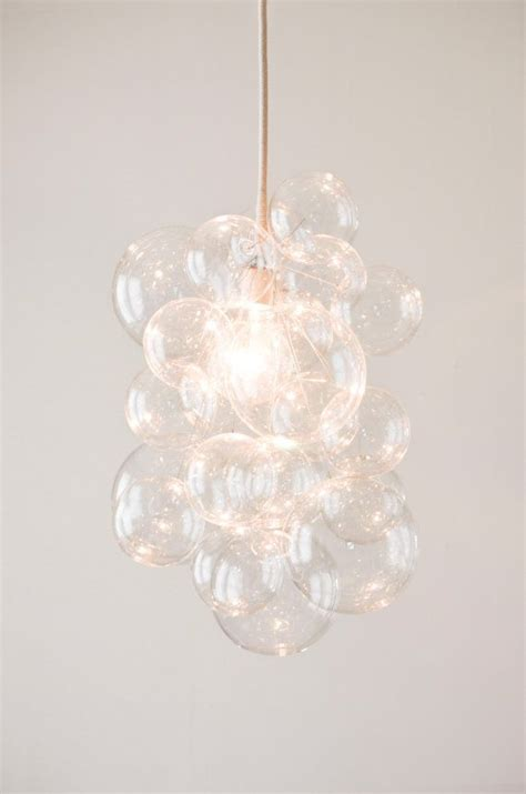 Glass Bubbles Chandelier The Large Cloud Glass Chandelier In Clear Or Gilded 22 Quot X 16 Quot
