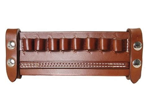 horn leather belt slide shotshell ammo carrier 8