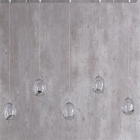 bulla 5 light ceiling pendant light bar chrome from