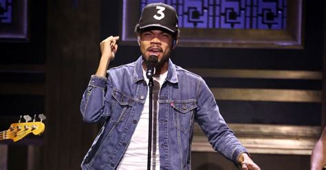 coloring book chance the rapper rolling chance the rapper s all performance on fallon