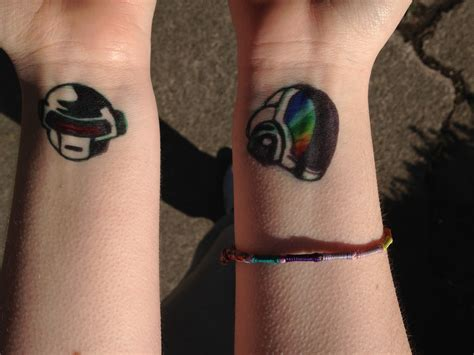 daft punk tattoo daft by xmarshmallowwolfx on deviantart