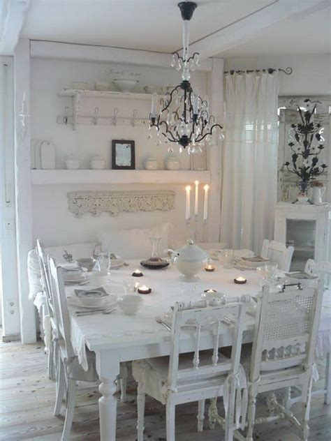 shabby chic dining rooms 35 beautiful shabby chic dining room decoration ideas
