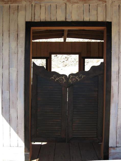how to make swinging bar doors saloon doors making a home pinterest