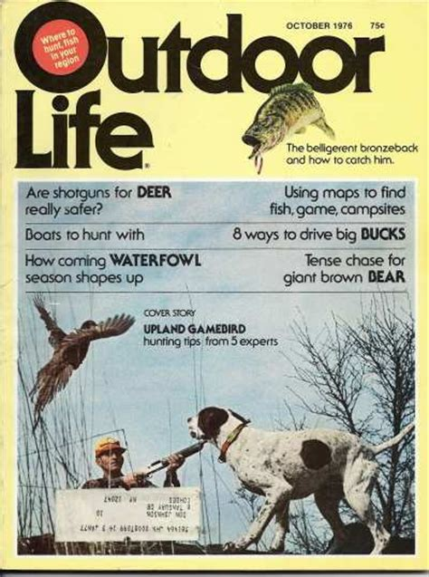 outdoor life vintage outdoor life magazine october 1976