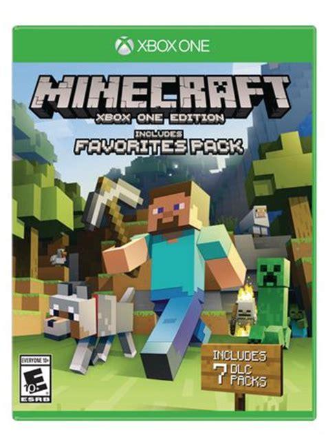 Xbox 360 Ip Address Finder Minecraft Xbox One Edition Favorites Pack Walmart Ca