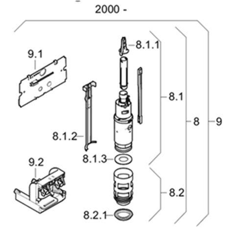 sostituzione cassetta wc 240 516 00 1 kit di sostituzione geberit twico per