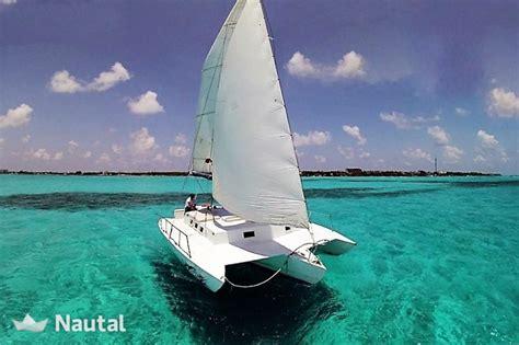 alquiler catamaran cancun alquilar catamar 225 n neel trimarans 36 en marina playa
