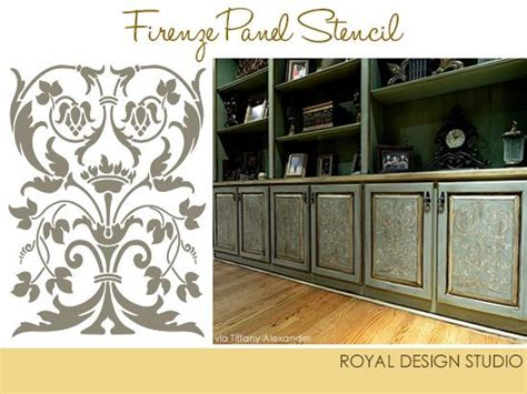 kitchen stencils designs stencil project ideas for stenciling kitchen cabinets and
