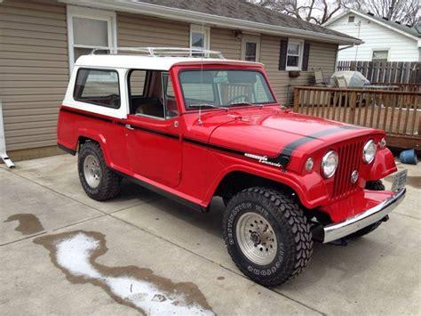 1967 jeep commando 1967 jeep jeepster commando na prodej