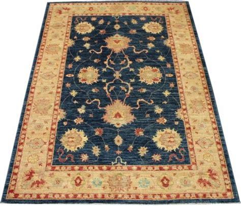 tapijt ziegler bol vloerkleed ziegler tapijt blue gold 170x240