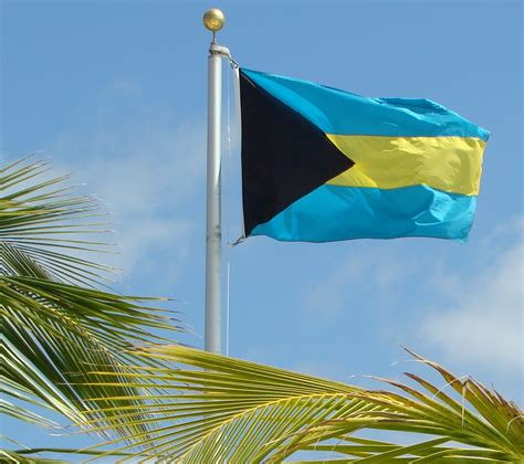 bahamas flag colors the bahamas commemorates its 40th anniversary of