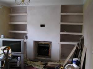 built in shelves around fireplace search for