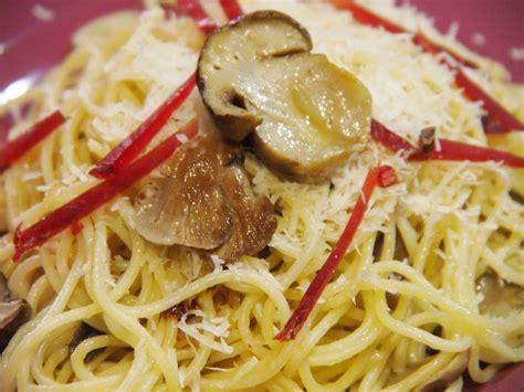 boletus recetas de cocina espaguetis con setas variadas y boletus cocina