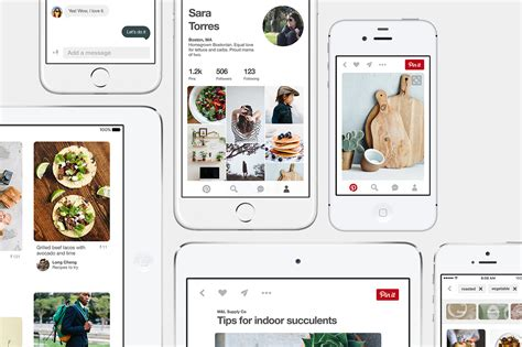 pinterest like layout ios pinterest launched new design for its ios app