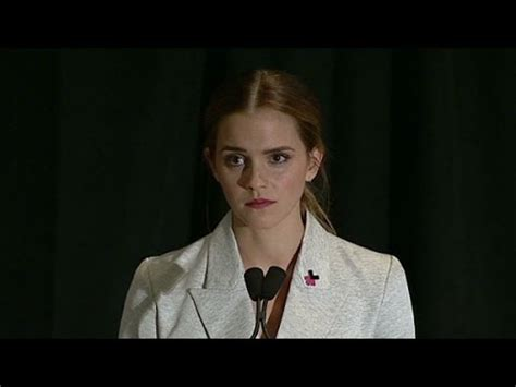 emma watson on feminism emma watson to united nations i m a feminist youtube