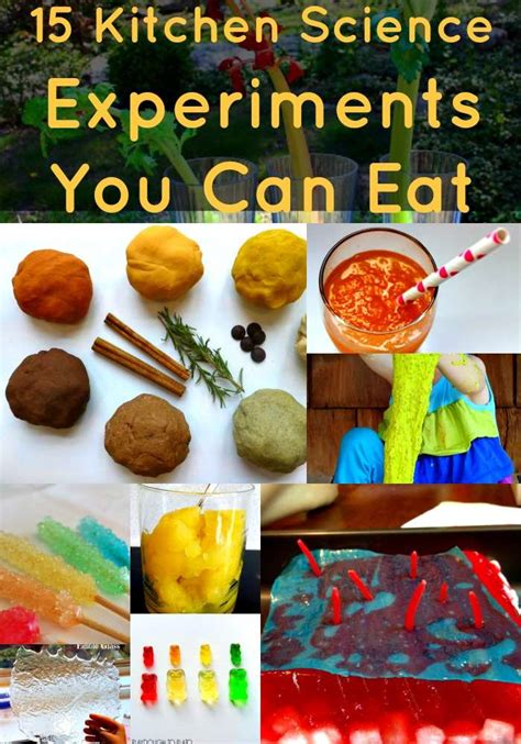 Kitchen Experiments by 15 Kitchen Science Experiments You Can Eat Family