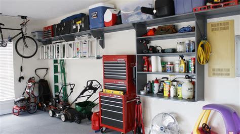 Hang Lawn Mower In Garage by How To Properly Maintain And Store Your Lawn And Garden