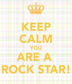 Star Wall Stickers Uk keep calm you are a rock star keep calm and carry on