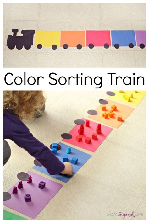 color activities for toddlers color sorting activity count activities and learning