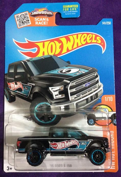 Hotwheels Wheels 15 Ford F 150 2016 wheels 141 15 ford f 150 black