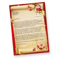 weihnachtsmann briefvorlage der kostenlosen vektor