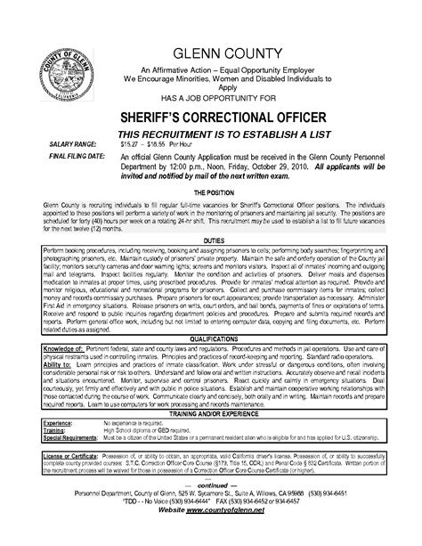 sle resume for correctional officer cover letter for correctional officer position cover