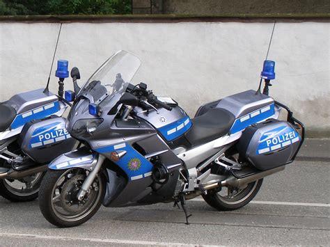 österreich Motorrad Führerschein B by Yamaha Motorrad Polizei Bildersammlung Christof Rezbach